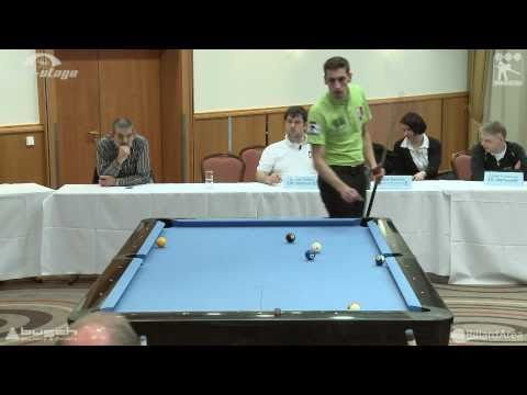 Billard Bundesliga, Geisen vs Naithani 8-Ball
