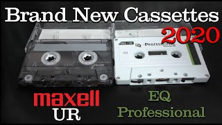 """New"" Maxell UR & New EQ Professional - 2020 - Type 1 Cassettes"