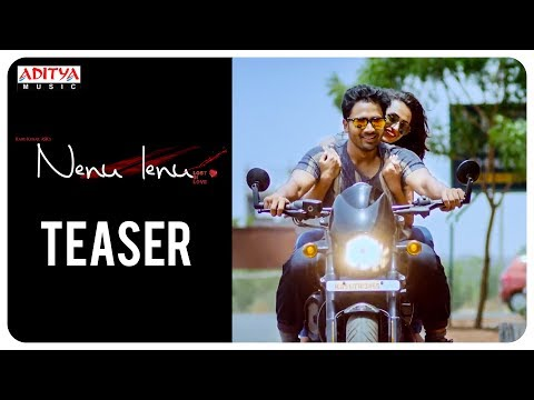 Nenu Lenu Telugu Movie Teaser | Harshith, Sri Padma | Ramu Kumar