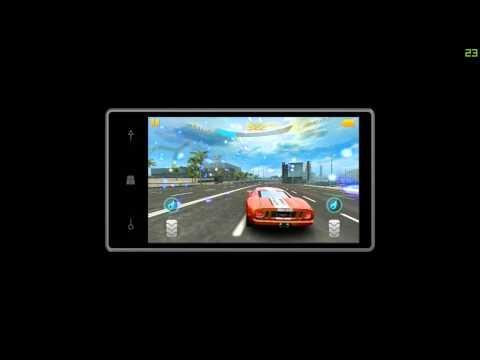 Asphalt 8 em smartphone low end
