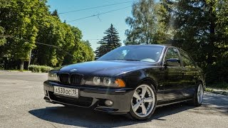 BMW 530 e39 Start Up, Exhaust & test drive POV