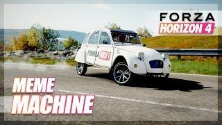 Forza Horizon 4 - The Meme Machine (Citroen 2CV Drift Build)
