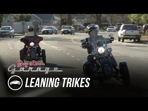 Tilting Motor Works Leaning Trikes - Jay Leno's Garage