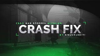 CS:GO HAS STOPPED WORKING!? 2018 Ultimate Fix!   Working as of 02-09-2018