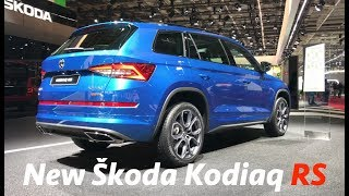 Škoda Kodiaq RS 2019 first quick look in 4K - Active info display