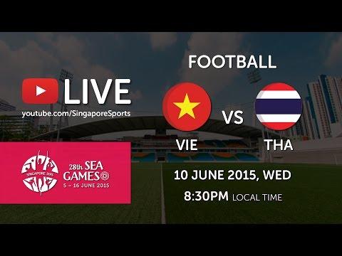 Football: Vietnam vs Thailand   28th SEA Games Singapore 2015