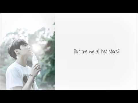 JUNGKOOK(방탄소년단) - Lost Stars COVER Lyrics