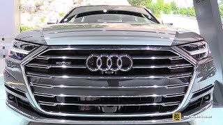 2019 Audi A8L Quattro - Exterior and Interior Walkaround - 2019 Chicago Auto Show