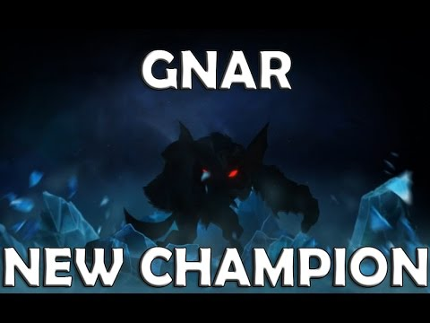 GNAR NEW CHAMPION Teaser Reveal League of Legends