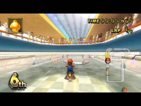 Mario Kart Wii - - Online Races 61: Mario Bros. Pizza Delivery