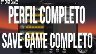 SAVE GAME ( PERFIL ) COMPLETO PARA EURO TRUCK SIMULATOR 2 - 2 SAVES - By: Dust Games