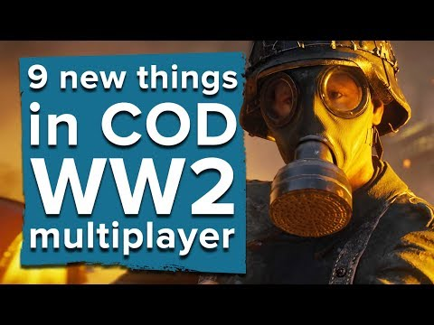 9 new things in Call of Duty WW2 multiplayer - Call of Duty WW2 multiplayer gameplay