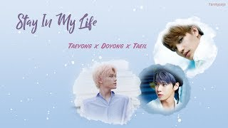 [KARAOKE/THAISUB] Stay In My Life - NCT (TAEIL, TAEYONG,. DOYOUNG) School 2017 OST.