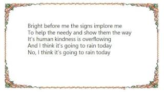 Watch Audra Mcdonald I Think Its Going To Rain Today video