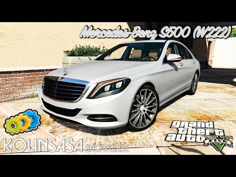 Mercedes-Benz S500 (W222) [michelin] v2.1