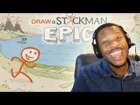 Draw a Stickman EPIC! w/Facecam - Part (1)