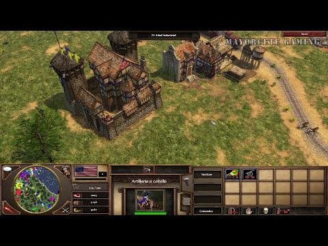 JUGANDO Age of Empires 3 - Revolución con Estados Unidos