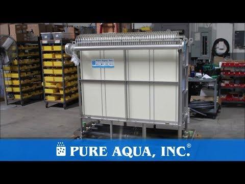 Pure Aqua| Membrane BioReactor (MBR) Machine Saudi Arabia, KSA 10,000 GPD