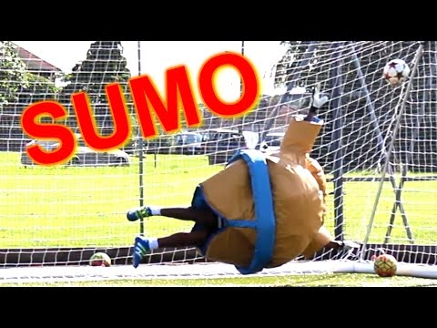 SUMO GOALKEEPING CHALLENGE!!!