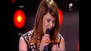 """Laura Stoica - """"Mai frumoasă"""". Interpretarea Alexandrei Crişan, la X Factor!"""