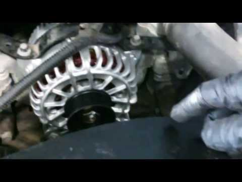 Alternator replacement Ford F250 F350 2004 - 2012 5.4L 6.8L Install Remove Replace