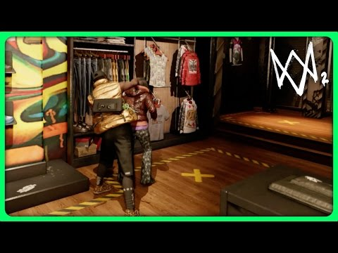 WATCH DOGS 2 - FREE ROAM, PARKOUR & PUNCHING PEOPLE (Watch Dogs 2 Free Roam Gameplay)
