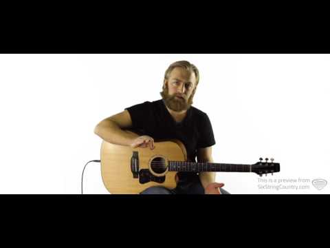 Whiskey Lullaby Guitar Lesson - Brad Paisley and Alison Krauss