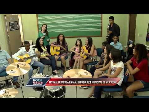 Festival de música para alunos da rede municipal de Vila Velha - Record News ES