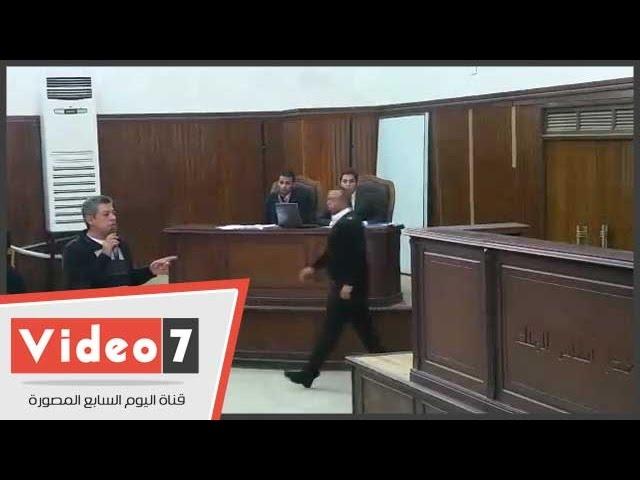المحكمة ترفض سؤالا للنيابة فى قضية أحداث الشورى والمتهمون يصفقون