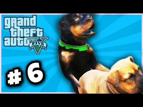 Gta V Gameplay Commentary ~ Part 6 ~ Dog Sex! video