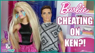 BARBIE CHEATING ON KEN? | Holiday Doll Episode