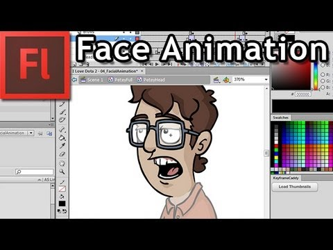 Facial Animation in Flash (Lip Syncing)