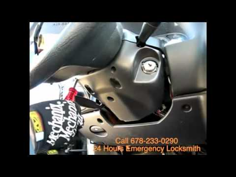 Charlotte Locksmith  Call 888-777-4241  Car key ignition repair  ignition replacement key
