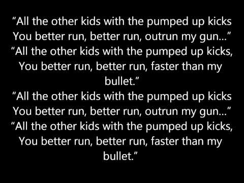 Foster The People - Pumped Up Kicks Lyrics video