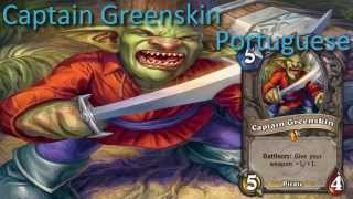 Captain Greenskin card sounds in 12 languages -Hearthstone✔