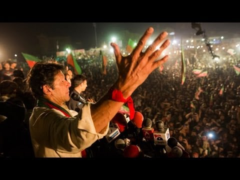 Imran Khan holds London-based rival responsible for Pakistani politician's murder -- video