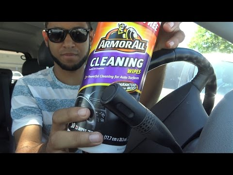 Wiping Down Your Interior Cleaning Tip   Camerons Car Reviews