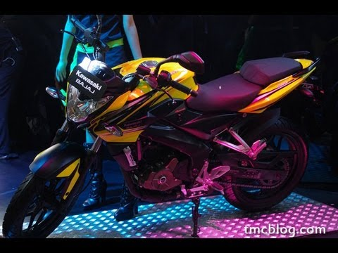 Suara Mesin Kawasaki Bajaj Pulsar 200NS