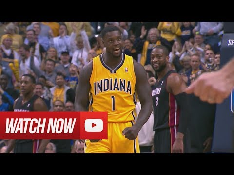 2014.03.26 - Lance Stephenson vs Dwyane Wade Full Battle Highlights - Pacers vs Heat