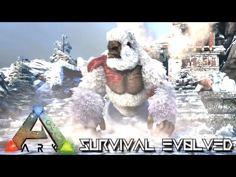 ARK SURVIVAL EVOLVED MEGAPITHECUS, LYSTROSAURUS, ARTHROPLUERA, SALMON UPDATE (Spotlight v240)