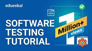 Software Testing Tutorial For Beginners | Manual & Automation Testing | Selenium Training | Edureka