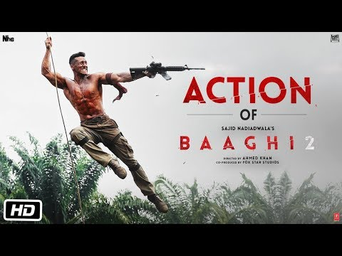 Get Ready To Fight - Action of Baaghi 2 | Tiger | Disha | Ahmed Khan | Sajid Nadiadwala thumbnail