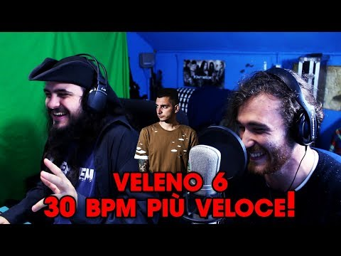 L'EXTRABEAT DI VELENO 6 → 30 BPM PIÙ VELOCE!!! Feat. Alex Palis