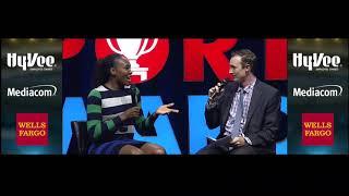 2018 Sports Awards: Venus Williams' favorite city? Of course it's Des Moines.