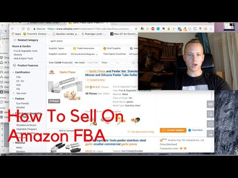 How To Sell on Amazon FBA For Beginners (Complete. Step-by-Step Guide)
