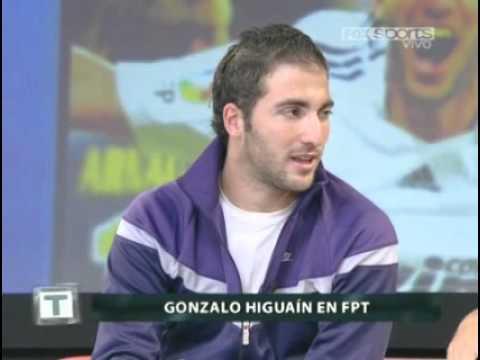 Gonzalo Higuaín en Fútbol Para Todos