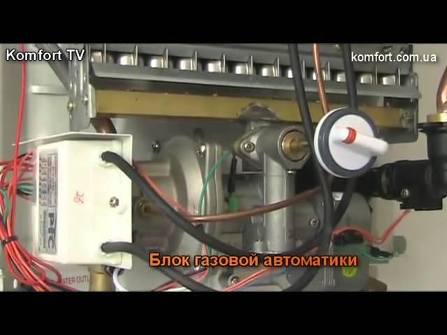 Ремонт газовой колонки neckar своими руками