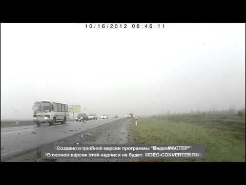 Жесть ДТП в Семилукском районе 16.10.2012