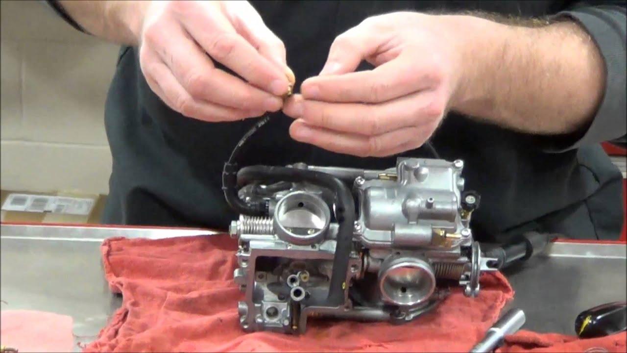 How to install a Dynojet Jet Kit in a Honda VT750DC Spirit ...