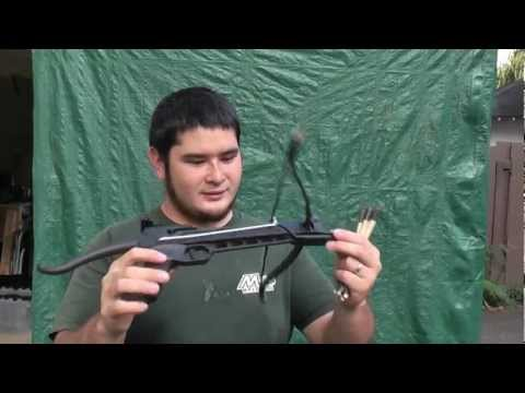 Quick Review and Shooting the Cobra 80 Pound Pistol Crossbow
